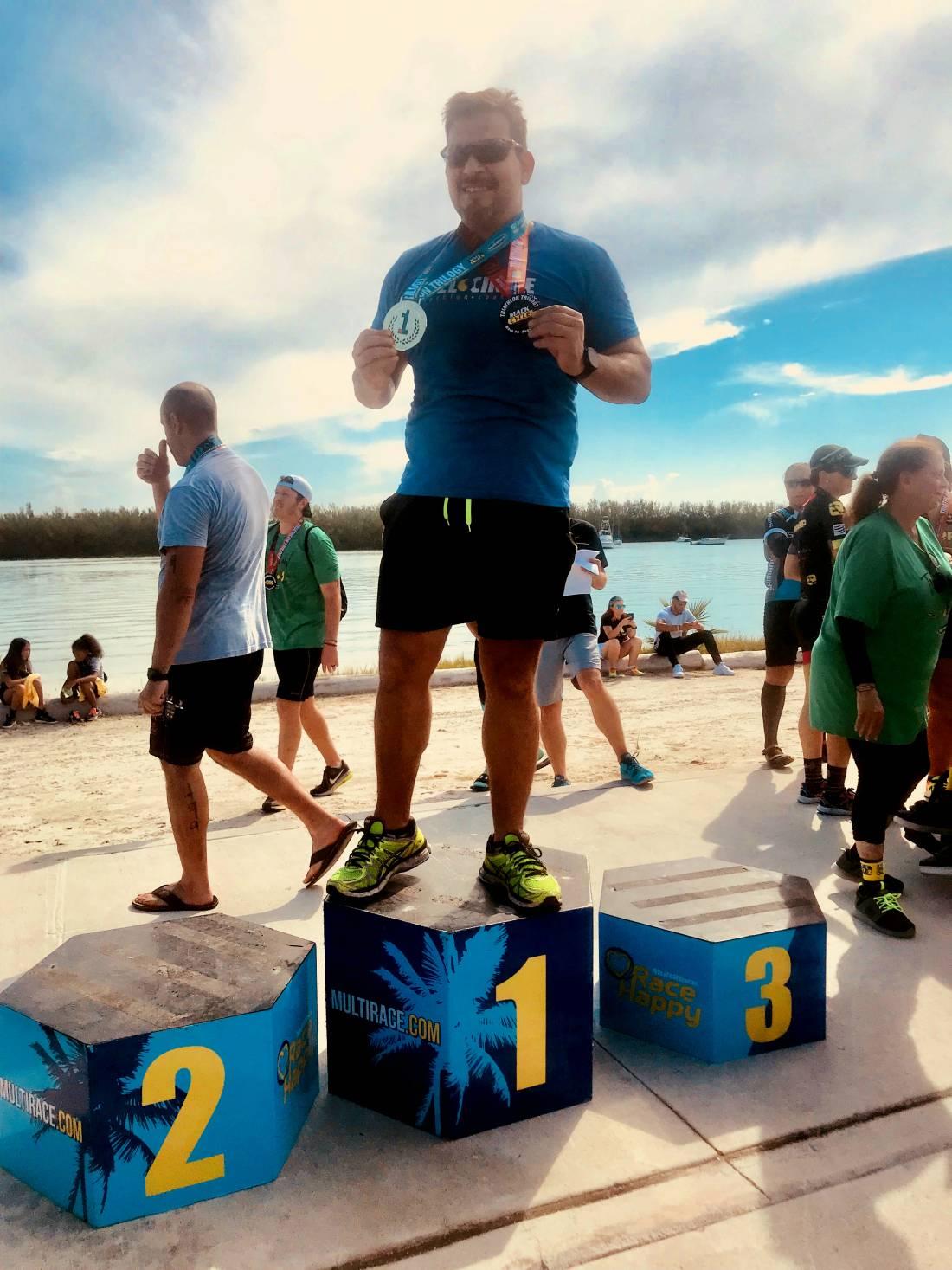 Rockstar Triathlete; Raul Aliaga