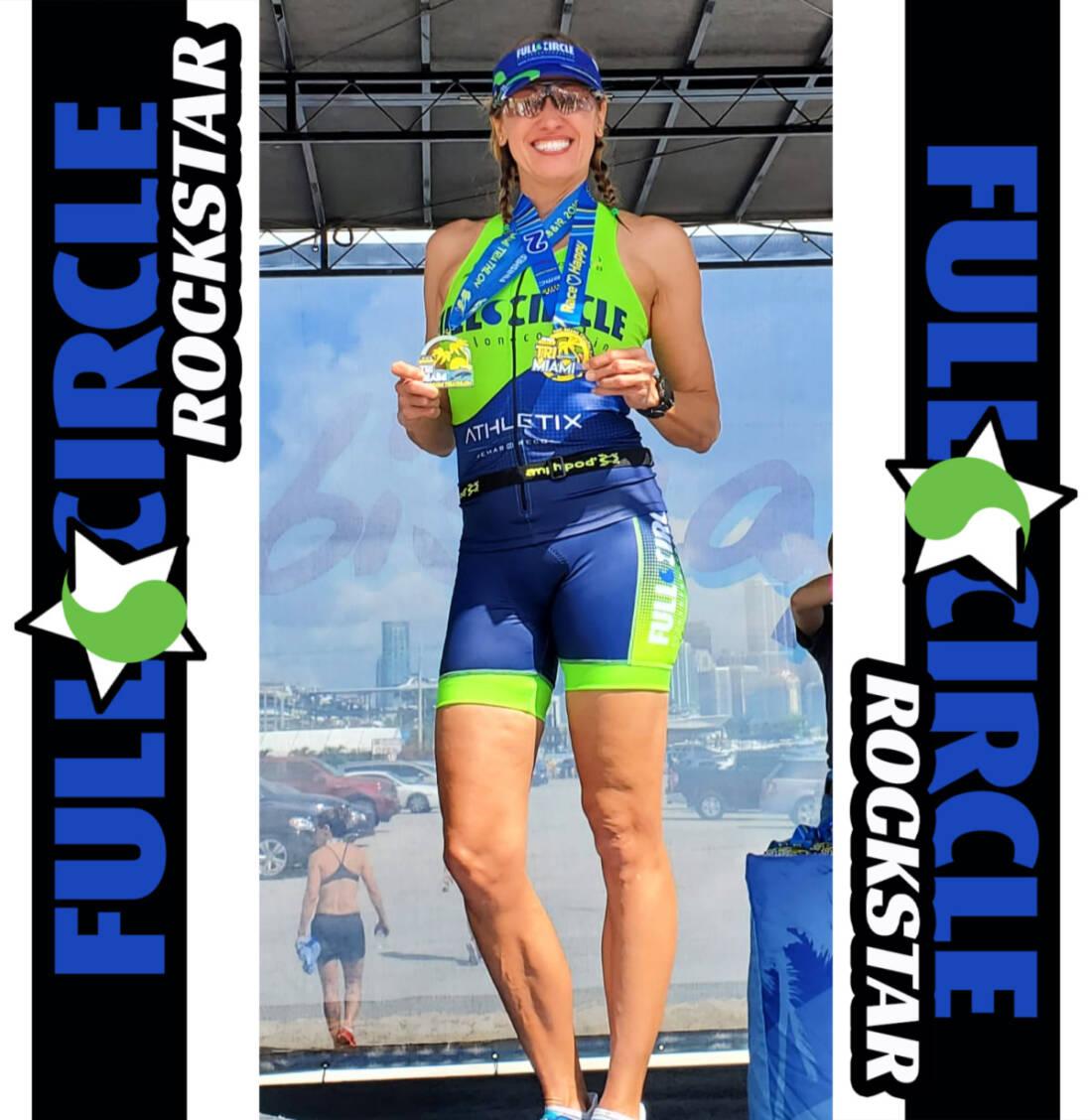 Rockstar Triathlete Terri Camejo