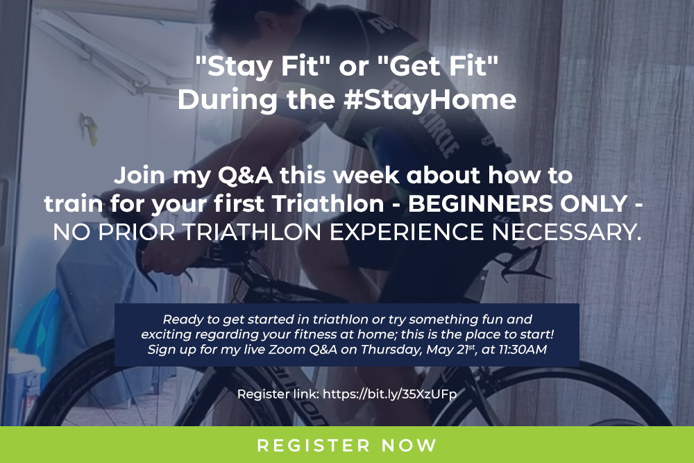 Join my Q&A – Stay Fit or Get Fit during the #StayHome !